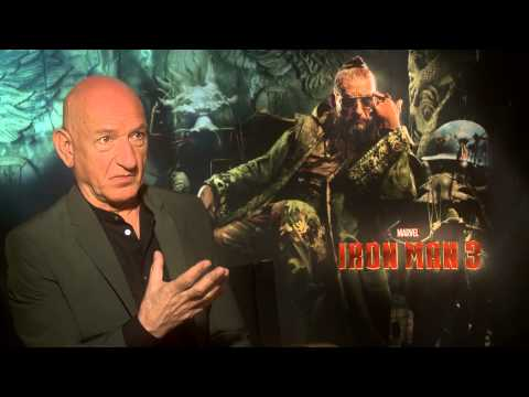 "Ben Kingsley Talks 'Iron Man 3' & ""The Mandarin"""