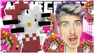 HELLO KITTY & DONUTS?! | BUILD BATTLE | Minecraft