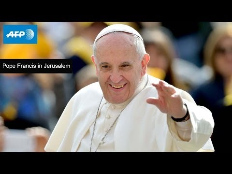 Pope Francis visits the Church of the Holy Land - Sunday, May 25, 2014