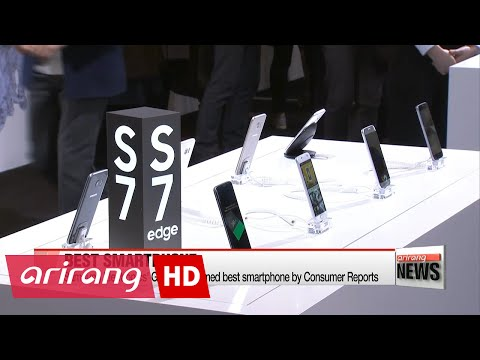 Samsung Electronics' Galaxy S7 named best smartphone by Consumer Reports