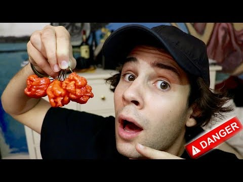 EATING WORLDS HOTTEST PEPPER!! (FREAKOUT)