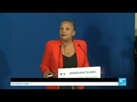 """Démission de Christiane Taubira : """"Je quitte le gouvernement sur un désaccord politique majeur"""""""