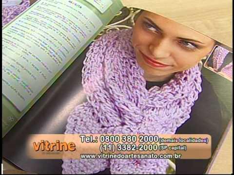 Programa Arte Brasil - 15/01/04 - Noemi Fonseca - Blusinha de Verão em Crochê