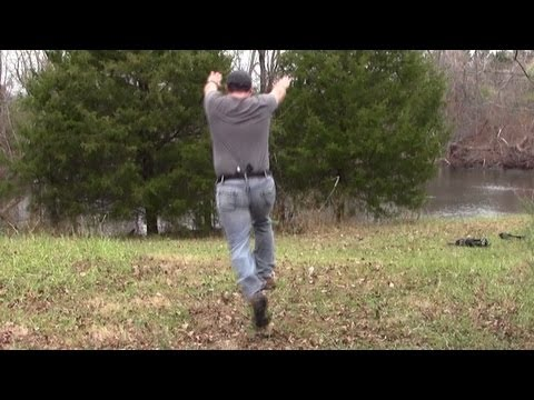 Remora Holster Backflip Test: Ultimate Retention (with Ruger SR9c)