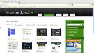 How To Download And Edit Free Css Template VideoMp4Mp3.Com