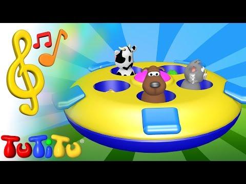 Piosenki Po Angielsku Dla Dzieci | Zwierzęta Z Zabawkami | Nauka Angielskiego Dla Dzieci