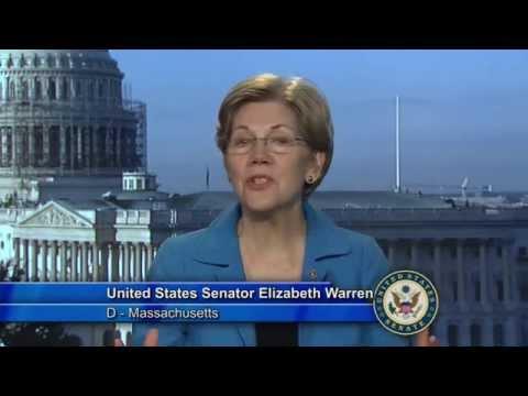 Congratulations from Senator Warren