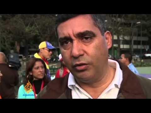 Venezuela boosts security in protest hubs