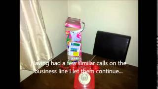 Telemarketers, Detergents, Fabric Conditioner and some Higgypop!