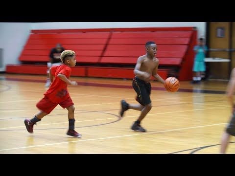 This kid could probably beat you in basketball. He just finished third grade.