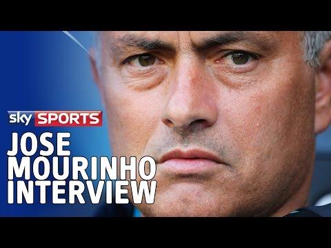 Jose Mourinho interview on Diego Costa, selling Romelu Lukaku & Premier League title chances