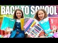 What's in our backpacks!? Back to school with the Haschak Sisters
