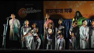 Rabirajoni Program ep 18 group recitation by kanikanjali