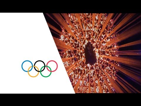 Olympic Cauldron is lit for London 2012