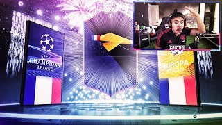 NEW EUROPA LEAGUE SBC! WHAT A PACK!!! FIFA 19