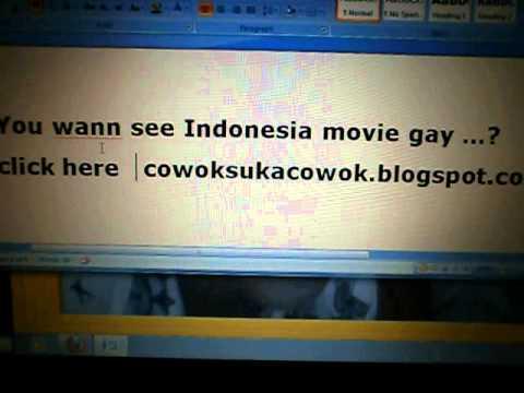 Inilah Gay Indonesia..... video