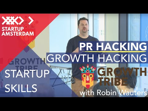 Growth Hackers Amsterdam Meetup - PR Hacking with Robin Wauters, Founding Editor Tech.eu