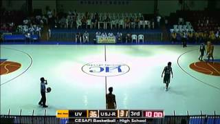 Cesafi Season 13 - USJR vs UV High School Basketball (August 06, 2013)