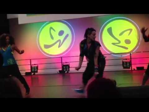 Zumba Fibo 2012 Booty Shake video