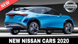 10 New Nissan Cars and Crossovers Bringing Updated Japanese Technology in 2020