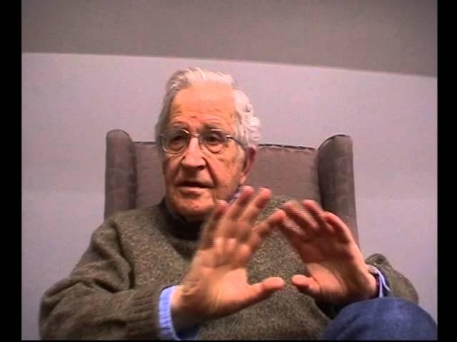 Intervista Znetitaly - Noam Chomsky. Roma 24 gennaio 2014 (prima parte)