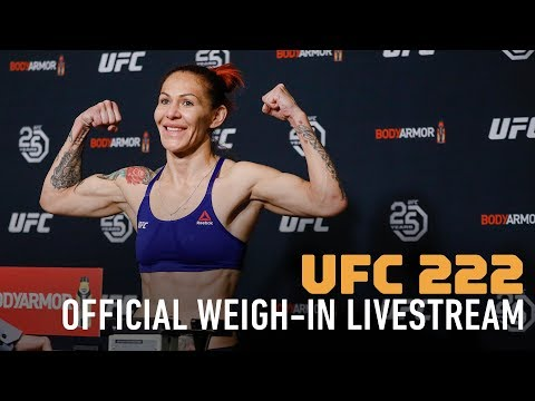 MMA Fighting Presents: UFC 222 Official Weigh-ins Live