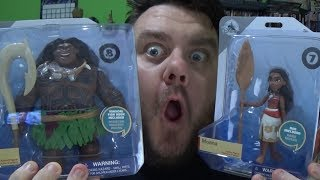 Disney Toybox Moana & Maui Action Figure Disney Store Exclusive Toy Review