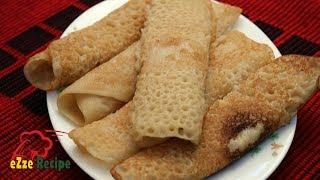 ভিন্ন রকম পুর দিয়ে পাটিশাপটা পিঠা | Patishapta Pitha Recipe in Bangla | Bengali Pitha Recipe