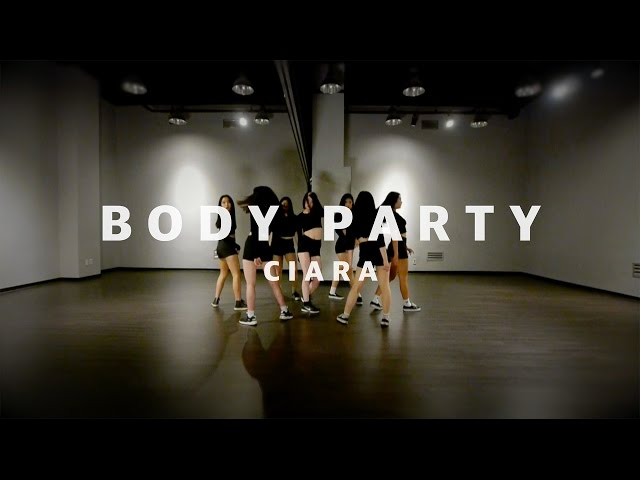 ALiEN  Ciara - Body Party Choreography by Euanflow  ALiEN Dance Studio