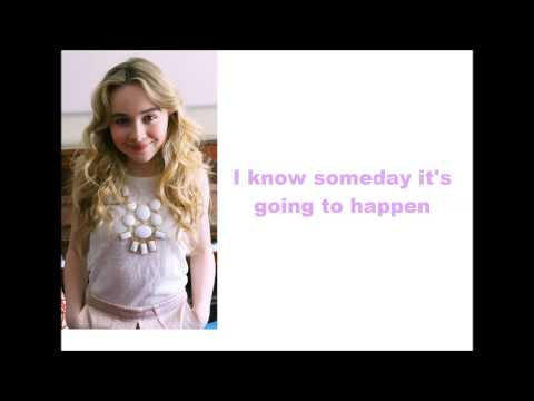 Sabrina Carpenter - White Flag (lyrics)