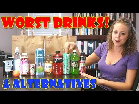 Worst Drinks that We Think are Healthy!! Alternative Health Tips, Nutrition, Weight Loss