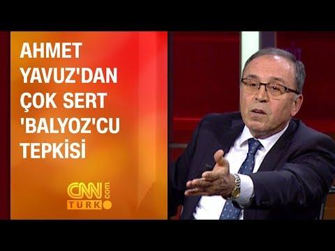 Ahmet Yavuz'dan çok sert 'Balyoz'cu tepkisi
