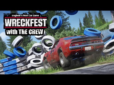 Wreckfest with The Crew (Epic Wrecks, Glitches and More!)