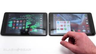 NVIDIA SHIELD Tablet Lollipop vs KitKat