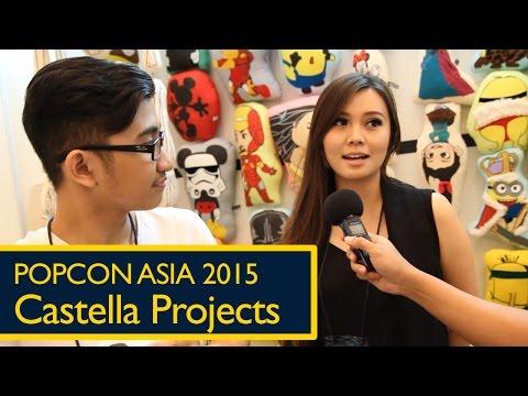 Popcon Asia 2015: Castella Projects