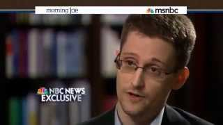 Edward Snowden NBC Interview - I was Trained as a Spy