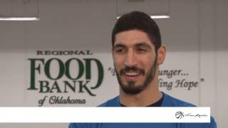 Enes Kanter Partners Up With Regional Food Bank