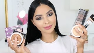 Get Ready With Me Using New 2017 Drugstore Makeup