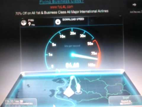 Superonline 100mbit test