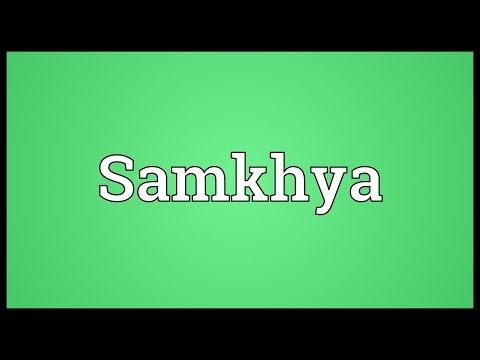 Header of samkhya