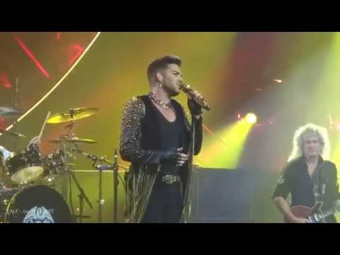 TALC HD - Queen + Adam Lambert - Killer Queen & Somebody to Love - Mohegan Sun - CT