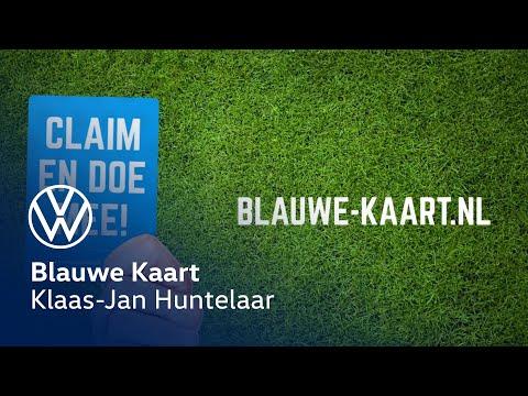 Volkswagen Blauwe Kaart - Klaas Jan Huntelaar