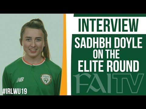 🎥#IRLWU19 Defender Sadhbh Doyle on the Elite Round