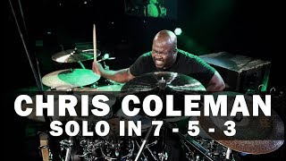 Meinl Drum Festival – Chris Coleman – Solo in 7 / 5 / 3