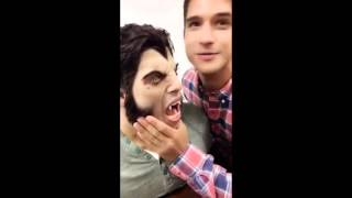 Teen Wolf Season 6 behind the scenes (snapchat)