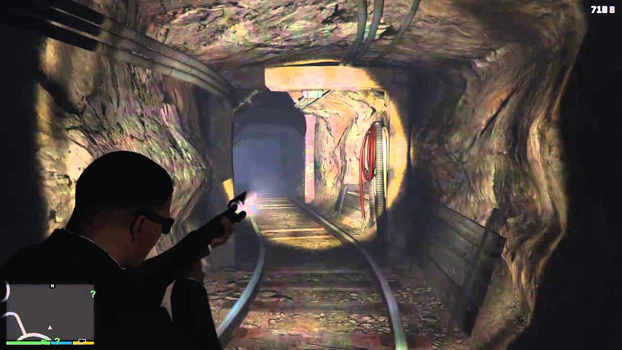 Cave Location Gta v Gta v The Spooky Cave