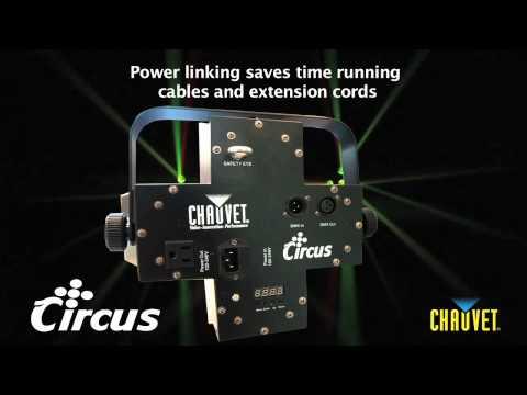 Chauvet Circus LED lighting effect