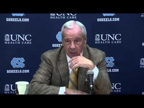 UNC Men's Basketball: Roy Williams Post Boston College