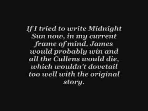 Stephenie Meyer Speaks Out - No More Midnight Sun?!