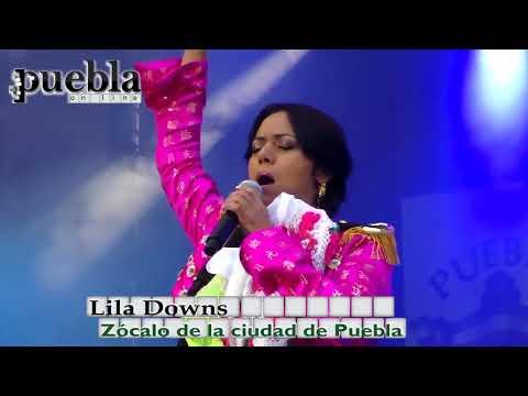 Lila Downs: fiestas patrias Puebla 2014